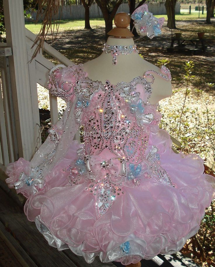 Popular Full Glitz Pageant Dresses Buy Cheap Full Glitz