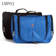 جودة عالية تعليق الرجال والنساء مستحضرات التجميل حقيبة البوليستر تجميل ضد الماء حقيبة السفر وكالة دش حقيبة التخزين