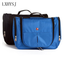 high quality suspension men and women cosmetics cosmetic bag polyester waterproof makeup bag travel agency shower storage bag
