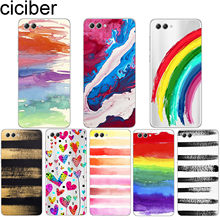 ciciber For Honor 8X V 10 9 8 Lite Pro X C Play Soft TPU For Y9 Y7 Y6 Y5 Y3 Prime Pro 2017 2018 2019 Back Phone Cases Heart Capa(China)