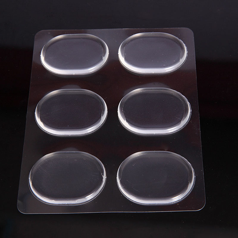 Shoe Accessories Silicone Gel Heel Cushion Protector Transparent Foot Feet Care Shoe Insert Pad Insole Useful Insert Pad Shoes sagace shoe insoles silicone gel heel cushion protector foot feet care shoe insert pad insole invisible high heels may22 40