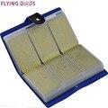 FLYING BIRDS! Держатель карты бренд Высокого Качества женщины и мужчины сумки карты имя ID Бизнес Кожа 156 Банк кредит Card Case LS8916fb