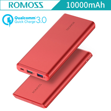 QC3.0 ROMOSS GT PRO 10000mAh Qualcomm 3.0 Quick Charger USB External Battery Power Two-way Fast Charge For iphone Samsung Galaxy