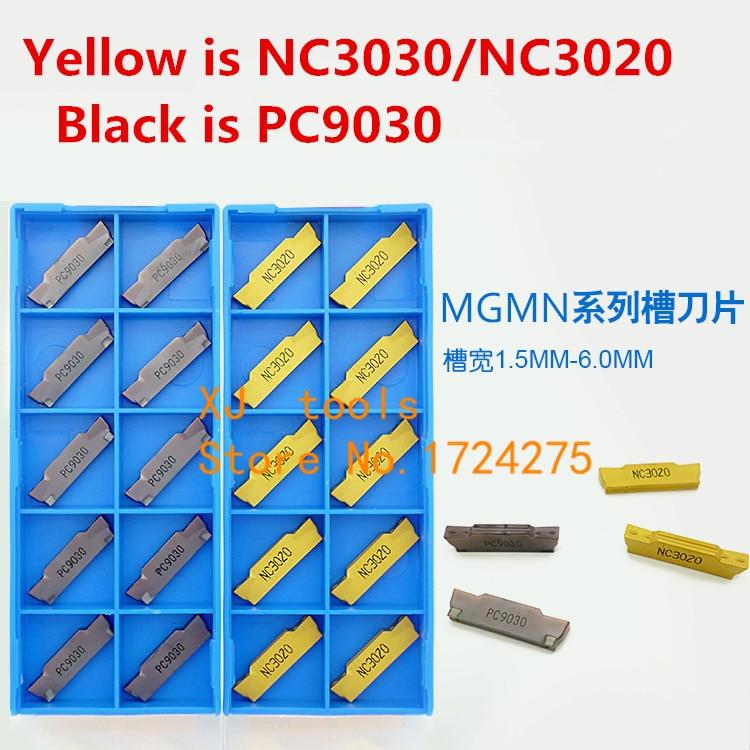 KORLOY MGMN300-M NC3030 10 PCS