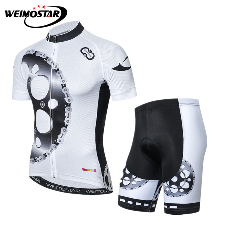 23c77cc96 Weimostar 2018 pro team Cycling Clothing Men Summer Mountain Bike Cycling  Jersey Set Quick Dry MTB