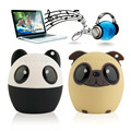 Bluetooth sem fio animal bonito panda dog sound speaker portátil leitor de áudio de voz clara vtb-bm6 tf cartão usb ifor mobile pc