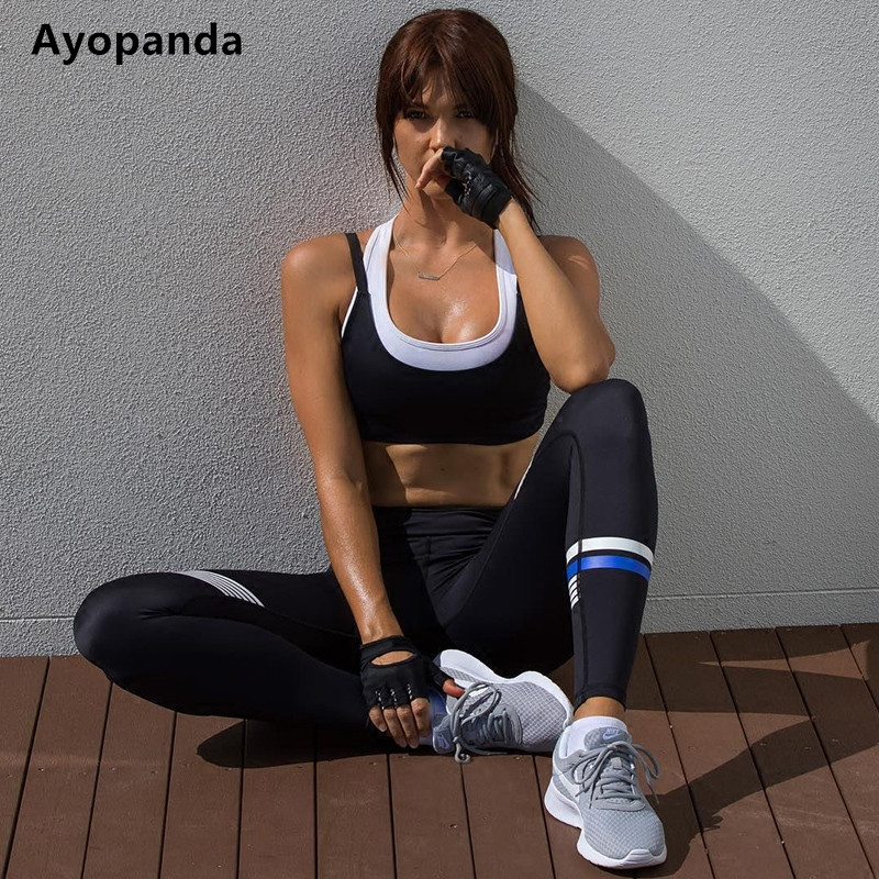 cc3848f8d3 Ayopanda Print Panel Fitness Gym Sports Legging Coco Super Future Yoga  Pants Women High Quality Running Tights Jogging Pants-in Running Tights  from Sports ...