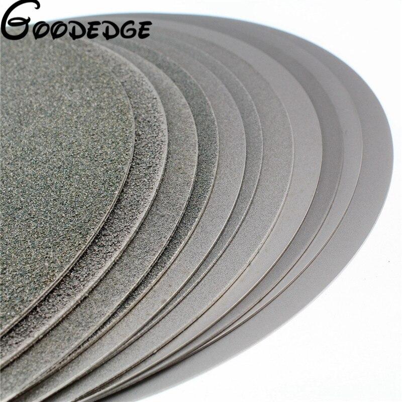 1Pcs 14 350mm Grit 80-1000 Diamond Flat Lap Disk Grinding Polish Wheel cnbtr silver snagging cutting electroplate diamond bowl shape grinding wheel grit 80