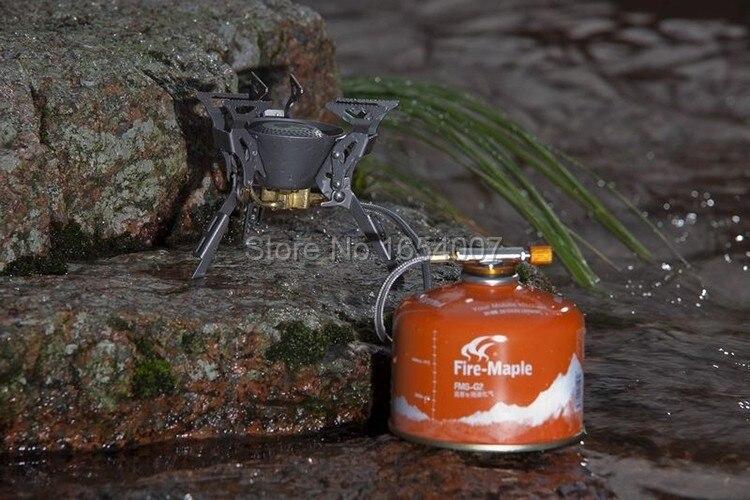 Огненный клен FMS-100T рюкзак газовая плита Сплит титан Кемпинг печи Cocinilla Кемпинг Houtkachel плита Открытый Кемпинг приготовления пищи