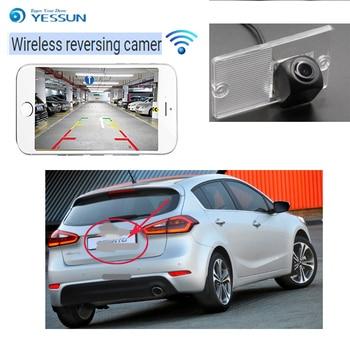 YESSUN car Reverse wireless reverse camera hd night vision For kia Cerato Hatchback 2003~2008 Car HD rear view reversing camera