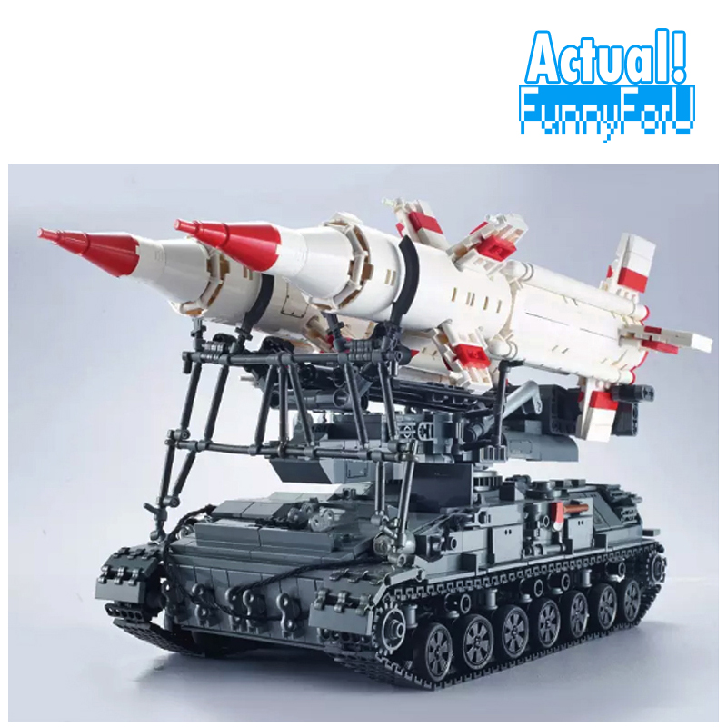 XingBao 06007 SA-4 GANEF Military Army Tank Building Blocks Bricks Toys Educational For Children brinquedos Compatible legoINGly lucide xentrix 23955 24 31