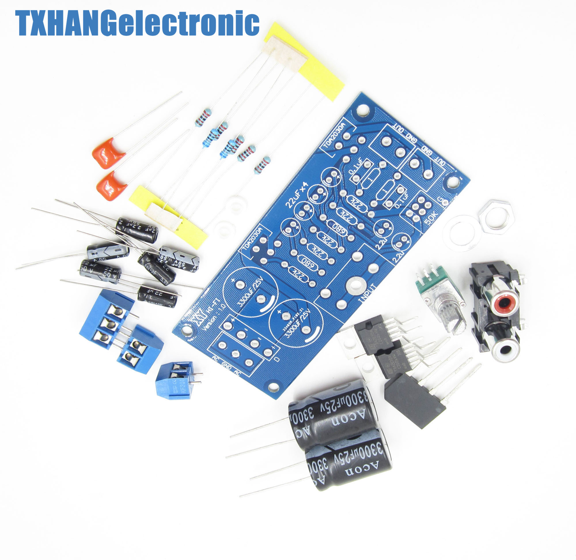 Tda2030a Audio Power Amplifier Diy Kit Components Ocl 18w X 2 Btl Mono 36w In Integrated Circuits From Electronic Supplies On