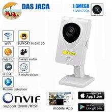 1.0 мега Мини IP Камера 720 P HD наблюдения Wi-Fi Камера инфракрасный Ночное видение 8 м P2P Видеоняни и радионяни безопасности Камера Mobile удаленный