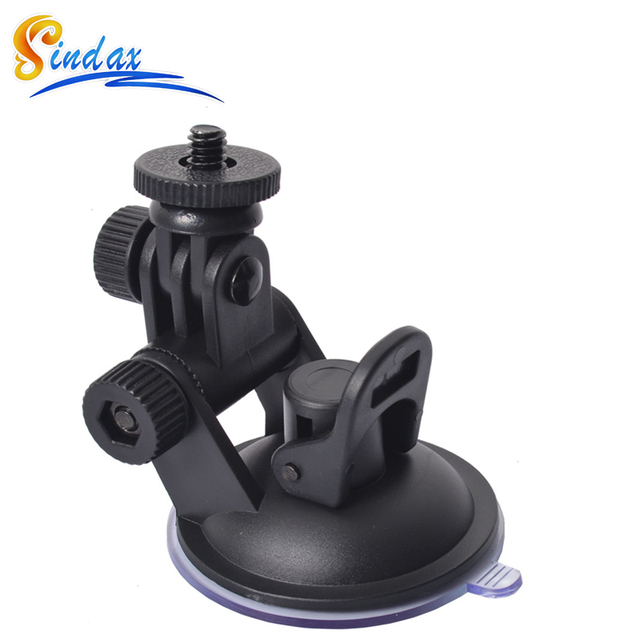 Mini Sucker Car Driving Recorder Mount DVR Bracket Screw Connector Rack DV GPS Camera Stand Holder ABS Max Load 3kg