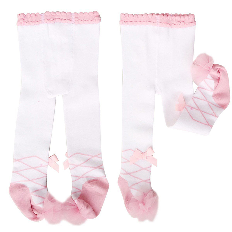 Baby Kids Girls Cotton Tights Socks Stockings Pants Hosiery Pantyhose Accessory