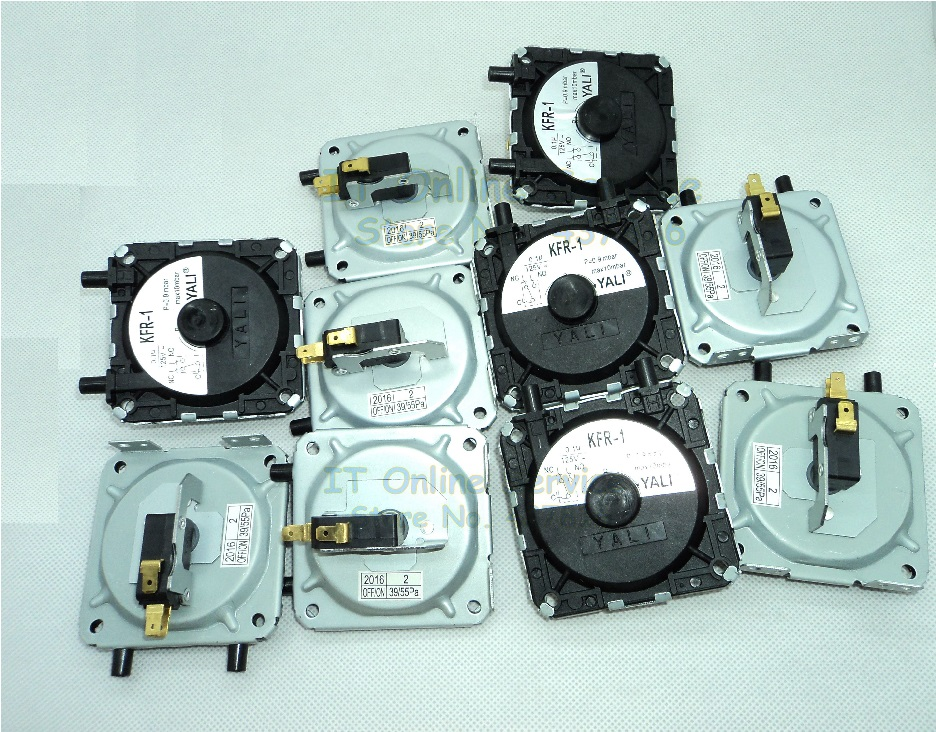 10 darabos / tétel kazán, gázvízmelegítő nyomáskapcsoló, univerzális légnyomás kapcsoló