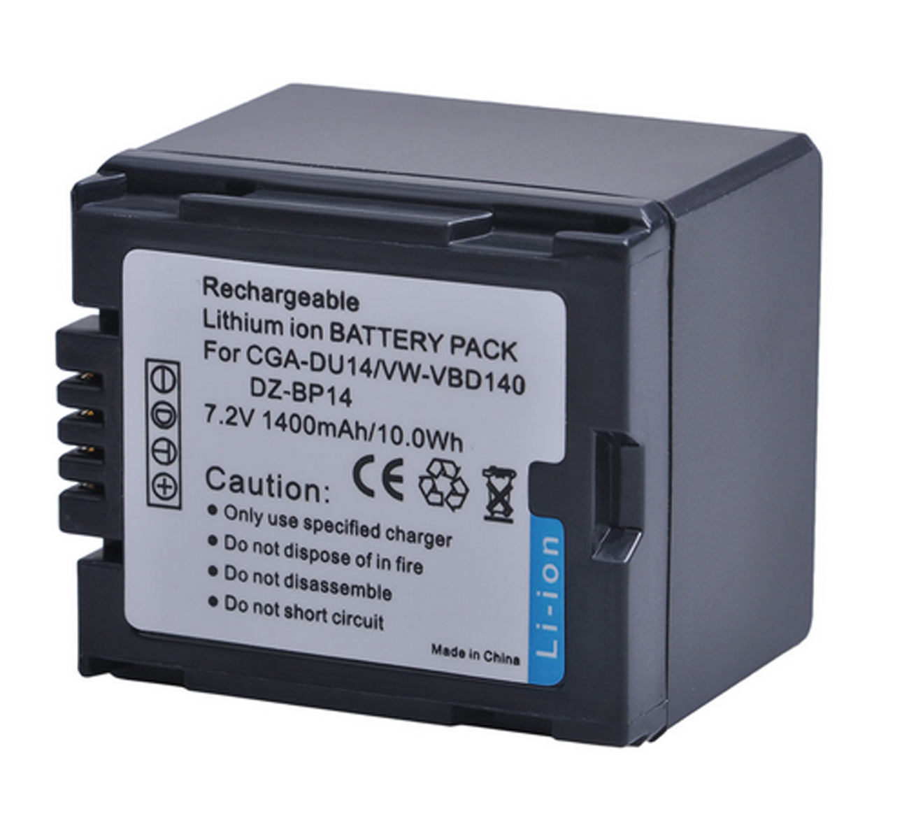 VDR-M50PP VDR-M53PP LCD USB Battery Charger for Panasonic VDR-M30PP VDR-M55PP Camcorder