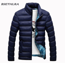 BSETHLRA 2019 Winter Jackets Men Hot Sale Casual Outwear Windbreak Coats Thick Cotton Warm Parka Men Fashion Brand Clothing 6XL(China)