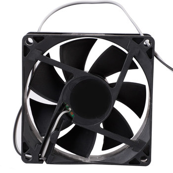 5V 80mm Computer Fan Portable USB Cooler Small PC CPU Cooling Computer Components Cooling Accessories Black Low Noise NEW image