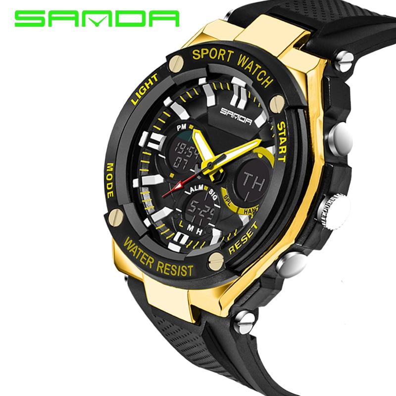 Men Sport Watch Waterproof Top Brand Luxury Military Watch LED Digital Quartz Wristwatch Relogio Masculino Reloj Hombre 2019 733 28