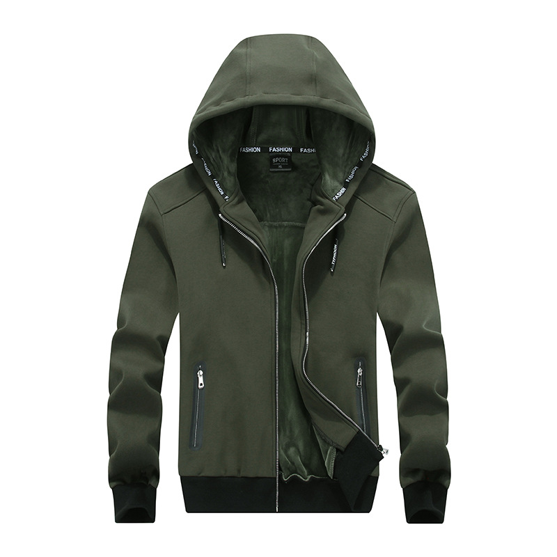 Large size 8XL New Autumn Winter Men Sporting Hooded Jacket Thickening Cashmere Hoodies Sweatshirts For Men Tracksuit Clothing