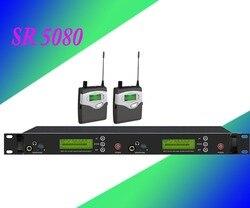 In Ear Monitor Draadloos Systeem  Twin zender Monitoring Professionele voor Stage Performance SR5080 IEM