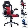 Nova de Couro PU Estilo de Corrida Balde Cadeira Assento Da Cadeira 2016 Mesa de Escritório Executivo CB10070