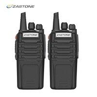 (2pcs) Zastone A9 10W Walkie Talkie 3 5km UHF/VHF Radio Handheld Police Equipment Two Way Radio CB Radio comunicador telsiz