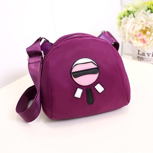 Estilo do verão Mulheres Saco de Nylon Messenger Bags Feminino Bolsas Crossbody Sacos de Ombro Bolsa de Dinheiro Bolsas Sac A Principal Femme