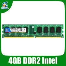 veineda ddr2 8gb 2x4gb ddr2-800 for intel and amd mobo support memoria 8gb ram ddr2 6400