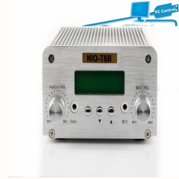 Free Shipping Manufactory Price Functional PC Control Bluetooth Function NIO-T6B FM PLL Transmitter
