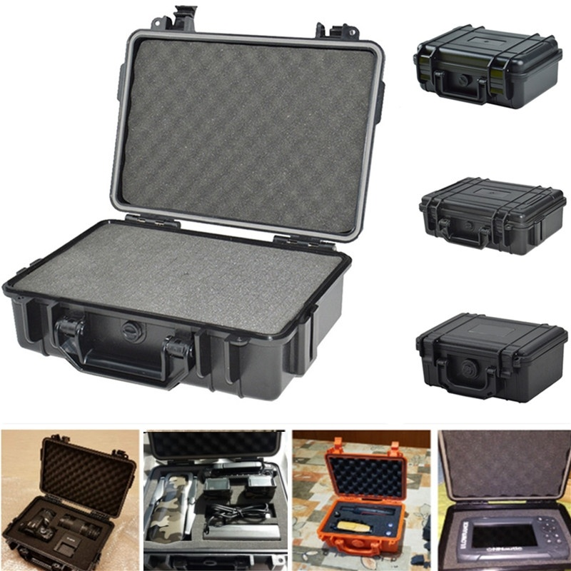 Box Tool-Box Sealed Survival-Case Airtight Abs-Plastic Waterproof Outdoor Frist Vehicle-Kit