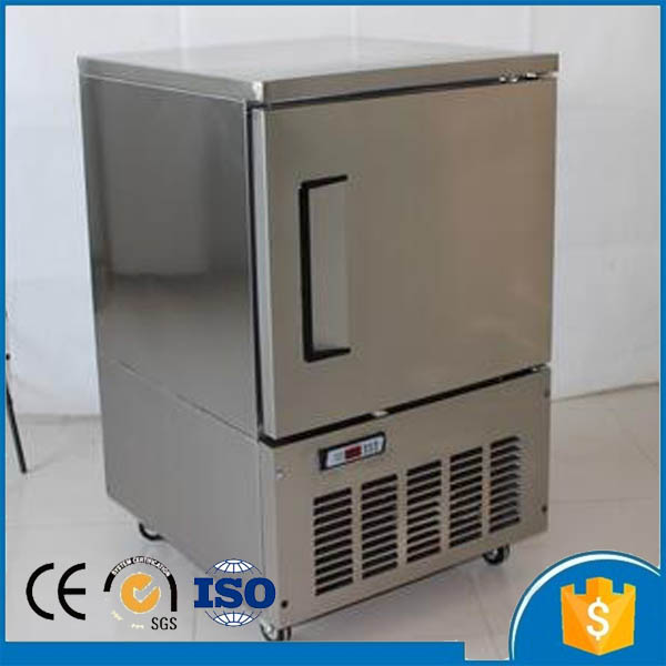 Home use mini chest freezer blast chiller freezer machine for fresh meat sea food