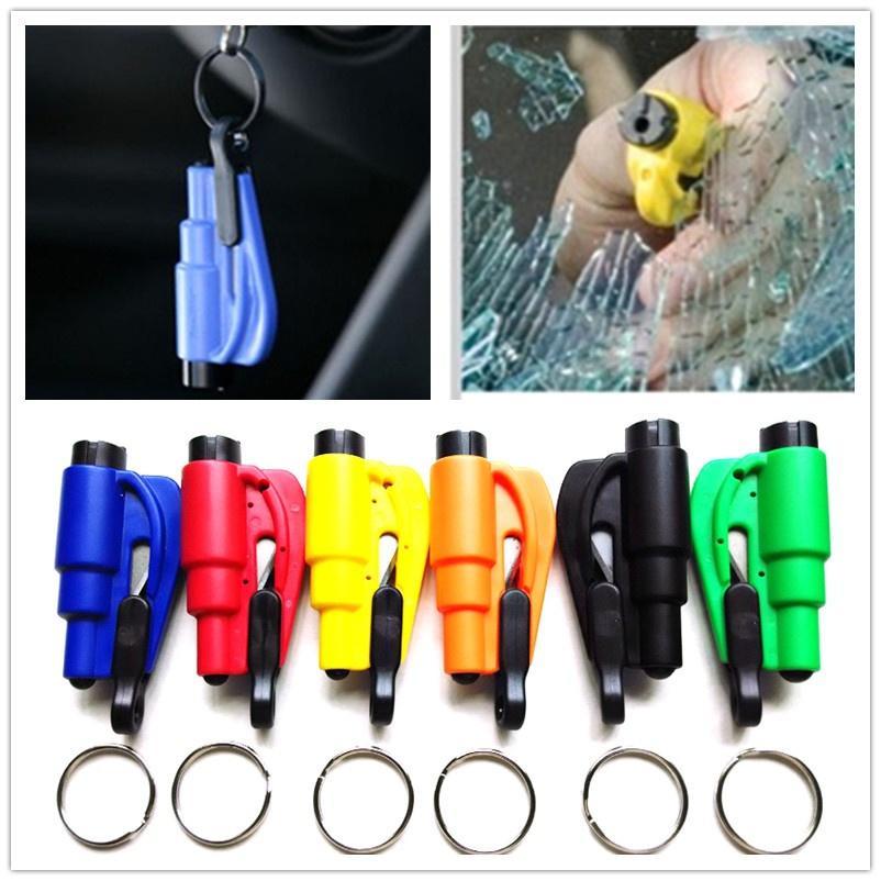Handwerkzeuge 3 In 1 Notfall Flucht Rescue Tool Pfeifen Messer Cutter Multi-funktion Auto Auto Mini Sicherheit Glas Fenster Brechen Hammer Werkzeuge