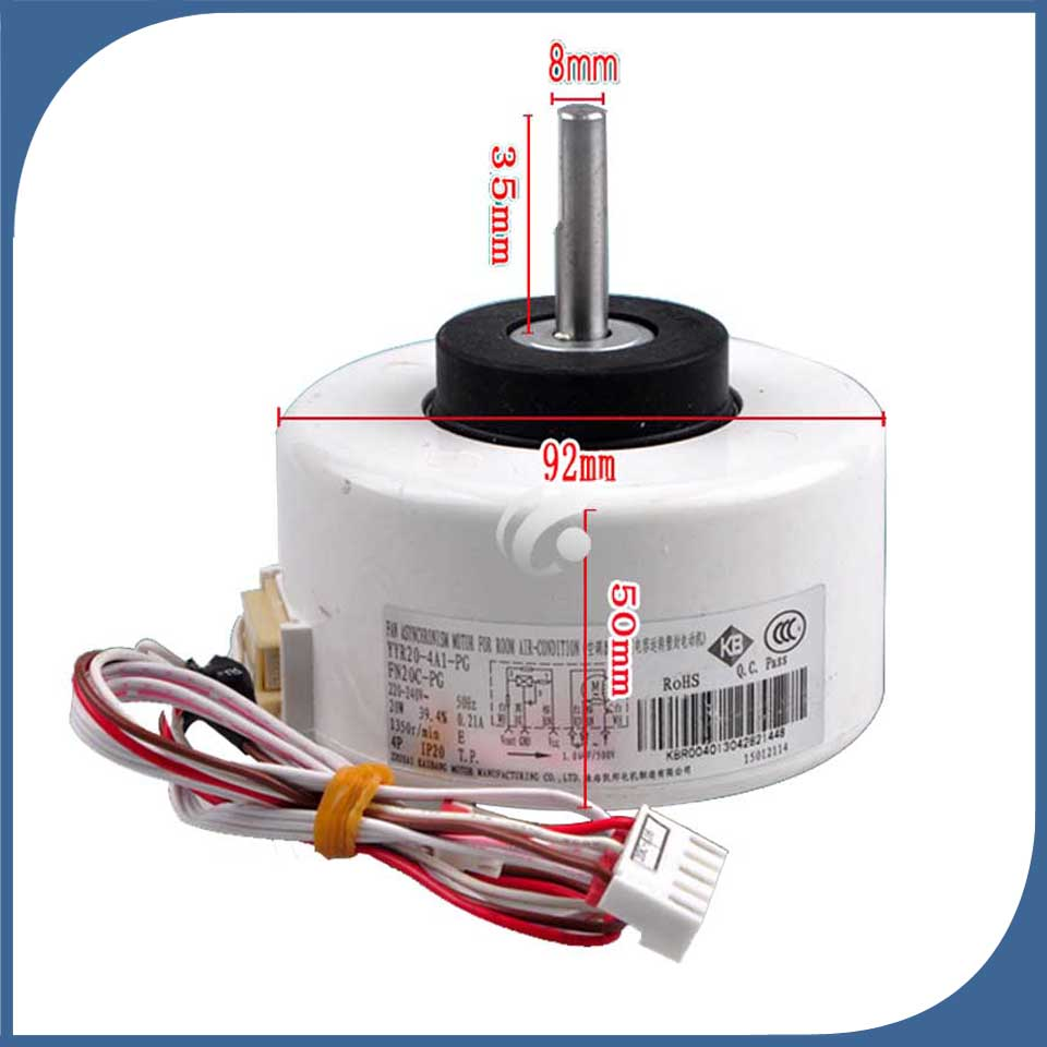 new good working for Air conditioner inner machine motor FN20A-PG FN20C-PG YYR20-4A1-PG Motor fannew good working for Air conditioner inner machine motor FN20A-PG FN20C-PG YYR20-4A1-PG Motor fan