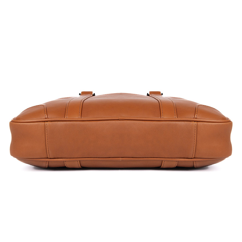 HTB1SS9LXk95K1Rjt Xoq6zeepXad Nesitu Black Brown Genuine Leather Office Men Briefcase Messenger Bags Real Skin Business Travel Bag 14'' Laptop Portfolio M7349