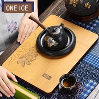 Kungfu Tea Set Bamboo Tea Tray Simple Creative Mini Japanese Size Tea Tray Chinese Kung Fu Bamboo Tea Trays