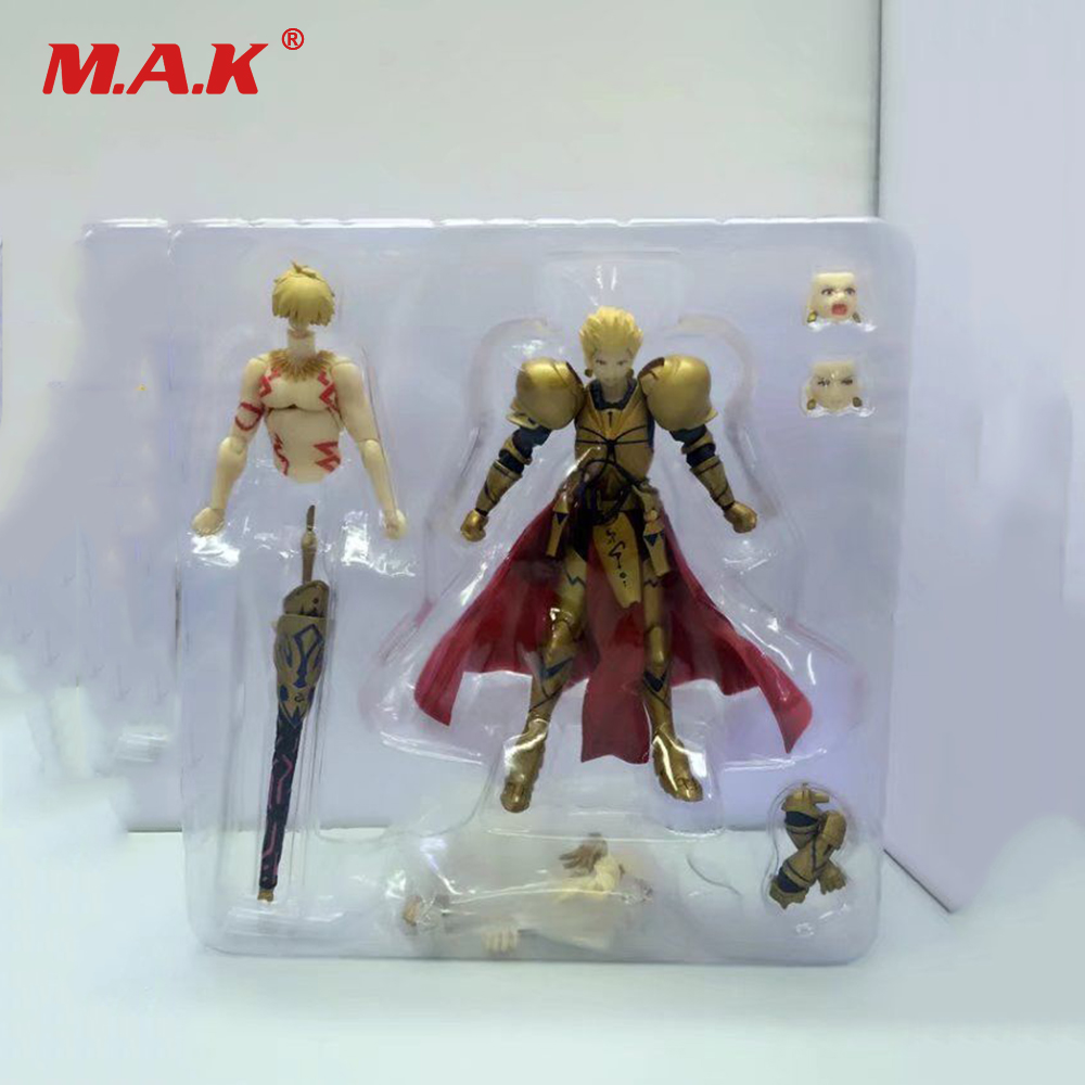 Figma 300Fate Archer Gilgamesh Game  Figure Model 15cm PVC Doll collection toys
