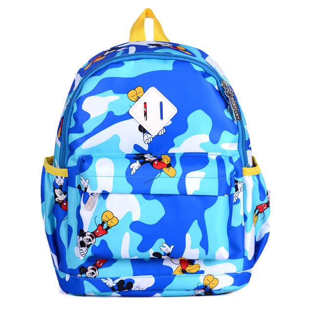 Camuflaje Color de moda Niños Bolsas Escuela 2016 Bolsa de Kindergarten Niños Mochila Para Niños Y Niñas Mochila Infantil de la Cremallera