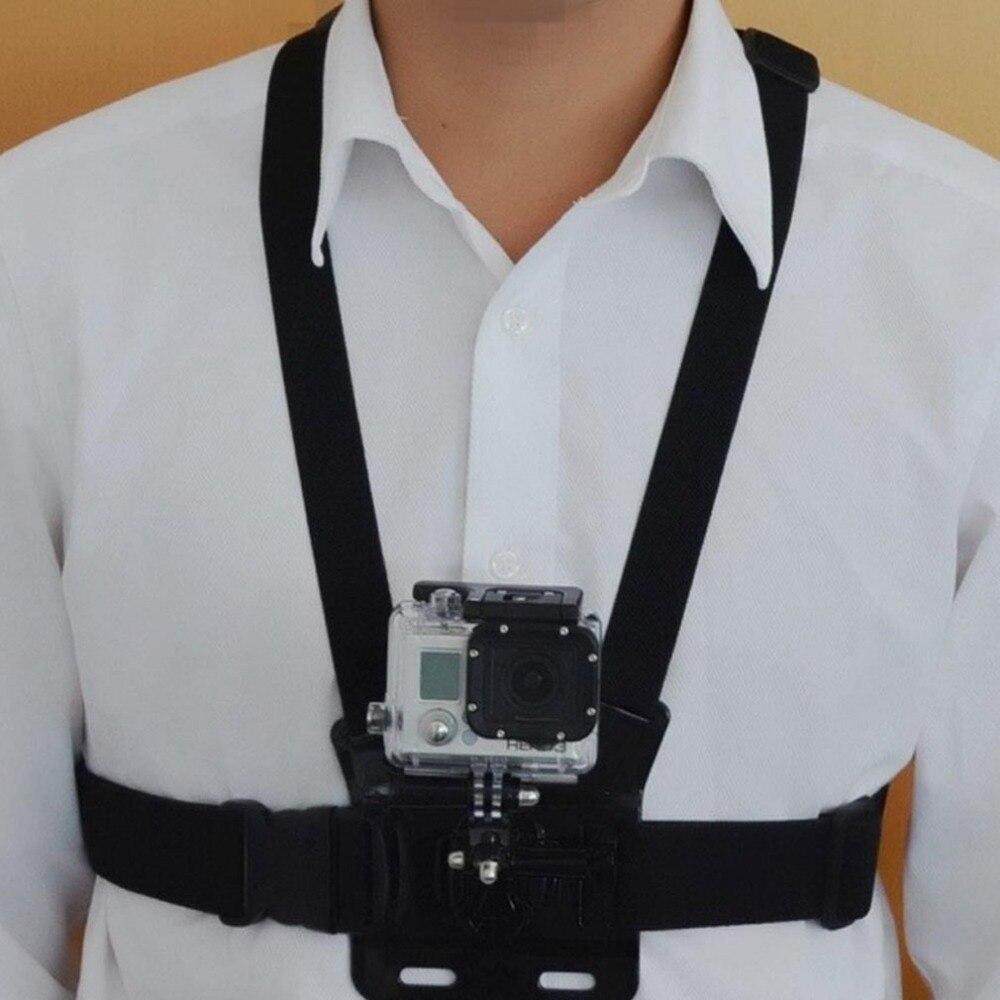 Camera Strap Chest Strap Belt Body Tripod Harness Mount For Go Pro SJCAM SJ4000 Camera Accessories