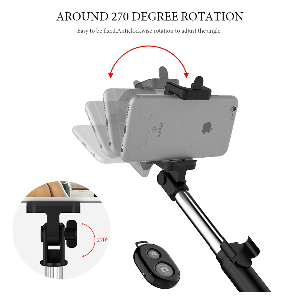 Bluetooth Selfie Stick Tripod (4)