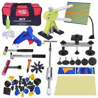 Профессиональный Дент Ремонт Removal Tool Kit для автомобиля супер PDR Инструменты комплект Dent Repair Auto Тяговая мост Пистолеты для склеивания резинов