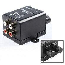 Universal Amplifier Speaker Bass Controller Regulator High Quality RCA Audio Controllers Car Modification