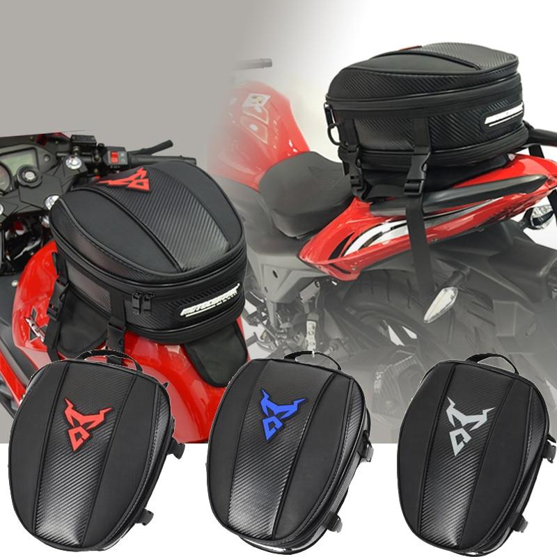 MOTOCENTRIC Motorcycle Tail Bag Waterproof Rain Cover Motorcycle Tank Bag Multi-Functional Moto Tail Bag Mochilas