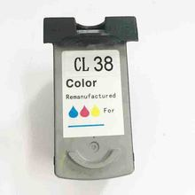 vilaxh CL-38 Ink Cartridge For Canon CL38 CL 38 PIXMA IP1800 IP1900 IP2500 IP2600 MP140 MP190 MP210 MP220 MX300 MX310 все цены