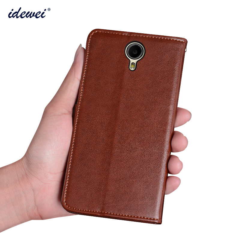 Prestige Muze X5 LTE Luxury Leather Cover Flip Case for Muze X5 LTE PSP5518DUO Phone Protection Case Cover