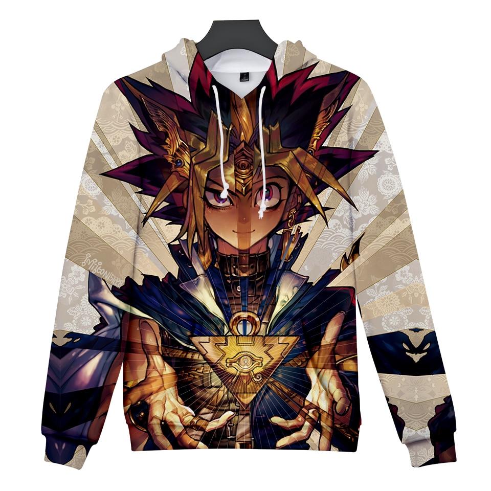 Top Anime Womne/men Hoody Sweatshirt Fashion Casual Duel Monster 3D Print Hoodie Sweatshirt XXS To 4XL