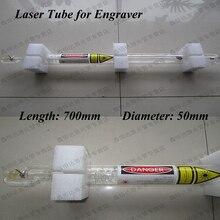 Высокое качество лазерной 700 мм 40 Вт СО2 трубка для гравер для резки машина водопровод Kafuter силиконовая резина клей СО2