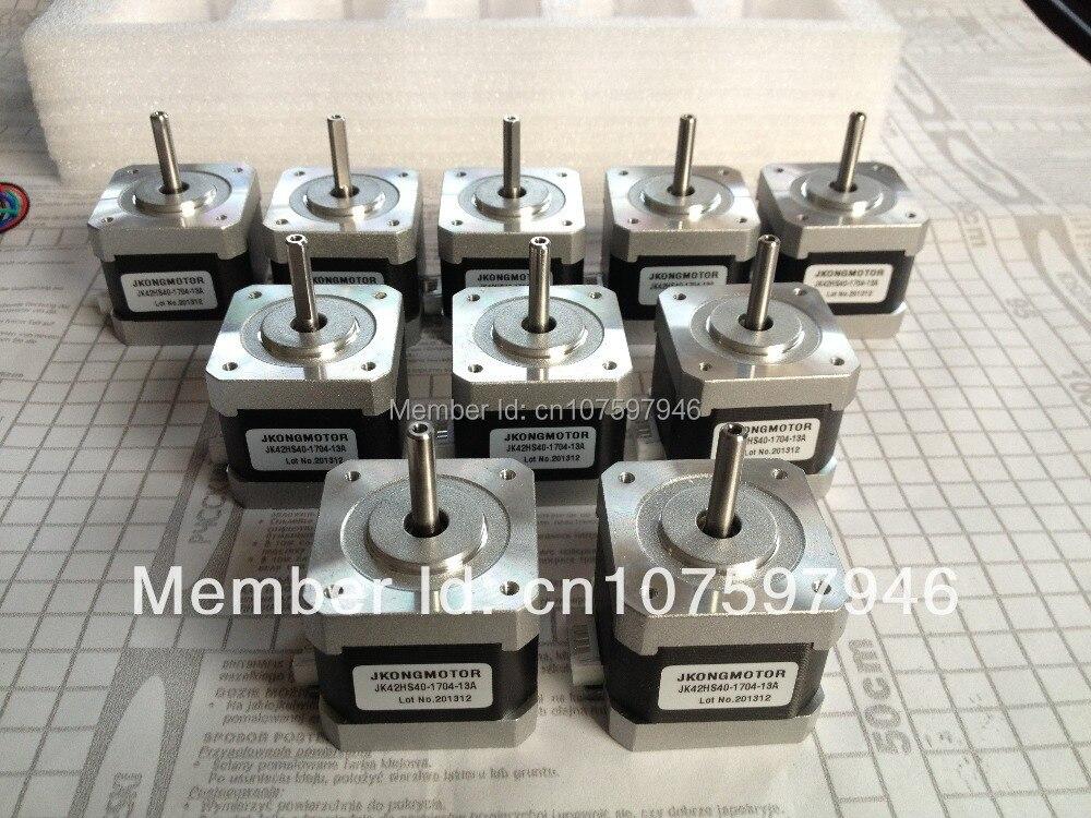 hoting sell 5pcs!!!1 8degree 42mm(NEMA17) 2phase hybrid