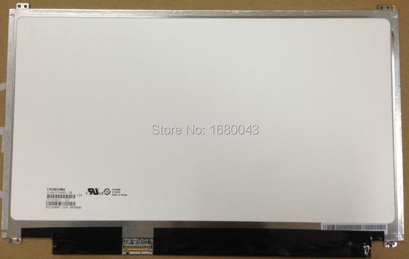 Free shipping CLAA133UA03 CW 13.3 display WXGA++ HD 1600*900 Monitor LCD Laptop Screen 30 pins LED Panel женские кольца jv женское серебряное кольцо с марказитами и эмалью rgm7364 mz enam wg 16 5